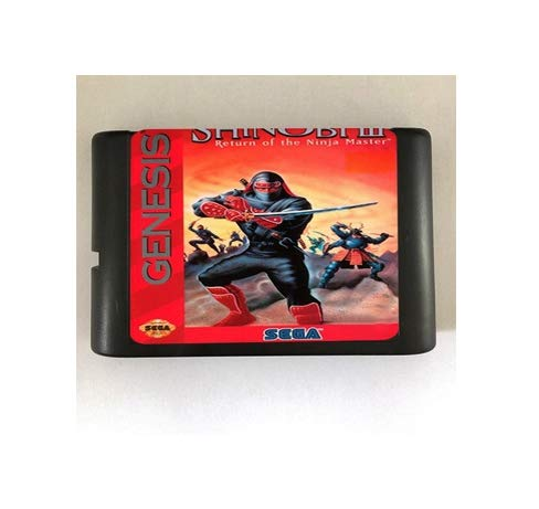Taka Co 16 Bit Sega MD Game Shinobi III Return of the Ninja Master - 16 bit MD Games Cartridge For MegaDrive Genesis console