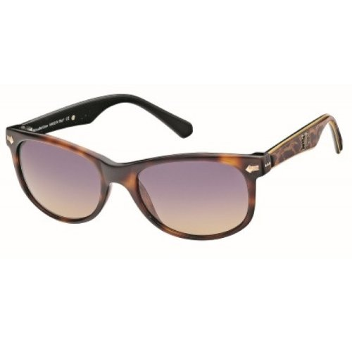 John Galliano Sunglasses Havana Leopard Frame JG0044 52Z