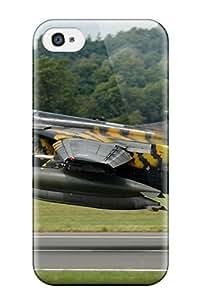 DavidMBernard Case Cover For Iphone 4/4s - Retailer Packaging Jet Fighter Protective Case