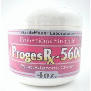 Proges Rx 5600 Progesrx Cream 4 Oz Pms Menopuase Relief