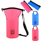 LUQUAN 10L Outdoor Sports Pvc Waterproof Dry Bag For Floating / Boating / Camping - Blue / Pink