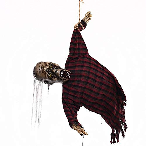 Party Diy Decorations - 1pcs Horror Hanging Long Haired Glowing Ghost Witch Halloween Props Diy Scary Haunted House Bar - Fancy Backless Lamp Stick Costum Dress Halloween Snow Broom Bat -