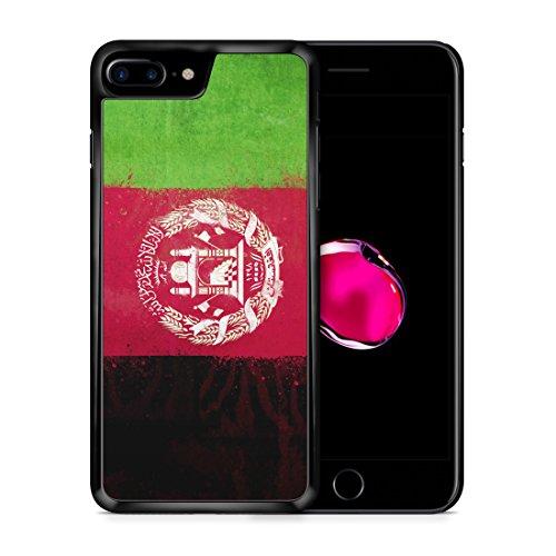 Afghanistan Grunge iPhone 7 PLUS SCHWARZ Hardcase Hülle Cover Case Schutz Schale Flagge Flag