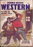 img - for DOUBLE-ACTION WESTERN: February, Feb. 1957 book / textbook / text book