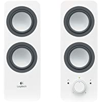 Logitech 980-000851 Stereo Speakers Z200, White