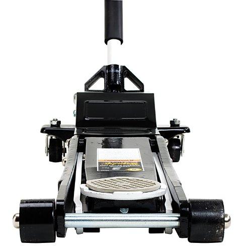 (Omega 29023 Magic Lift Black Low Profile Hydraulic Service Jack - 2 Ton Capacity)
