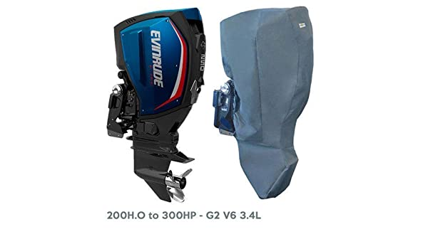 "200H.O to 300HP 25/"" Leg  FULL STORAGE COVER Evinrude  G2 V6 3.4L"