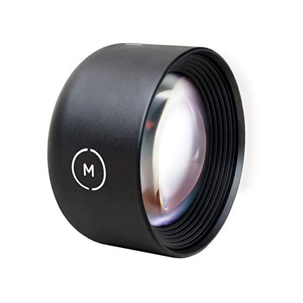RetinaPix Moment - New Tele 58mm Lens for iPhone, Pixel, and Samsung Galaxy Camera Phones
