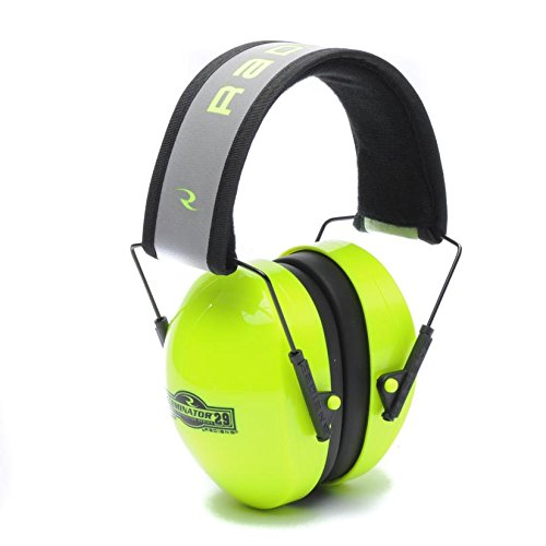 Hi Earmuffs Viz (Radians TR0HVG-BX NRR29 High Visibility Green Terminator Ear Muff (1 per Pack))