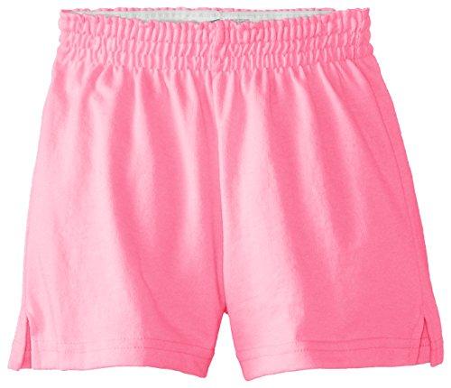 Soffe Girls' Big New Short, Neon Pink, X-Large ()