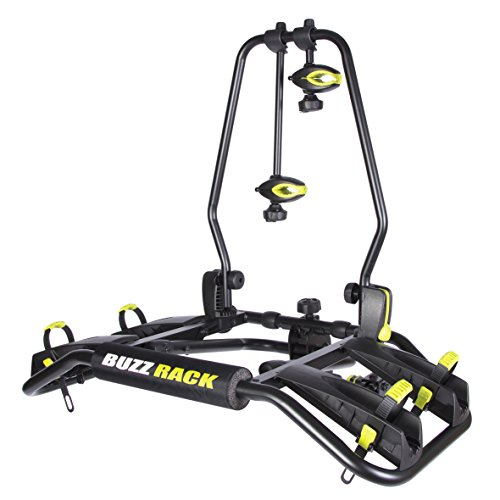 (BUZZRACK Entourage 2-Bike Platform Hitch Rack, Fat Bike Compatible with Additional Purchase of The kit)