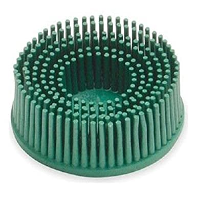 3M 048011-18730 3M-18730 Roloc Bristle Disc Grade-50 Green Size-2