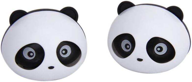 Naisidier Car Vent Parfum Mignon en Forme de Panda da/ération Clip d/ésodorisants pour Voiture Parfum avec Clips Lot de 2/ Noir et Blanc Automotive Accessoires Auto