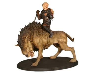 Lord of the Rings: Gothmog on Warg Statue by Sideshow Collectibles!