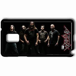 Personalized Samsung Note 4 Cell phone Case/Cover Skin Anthrax Black