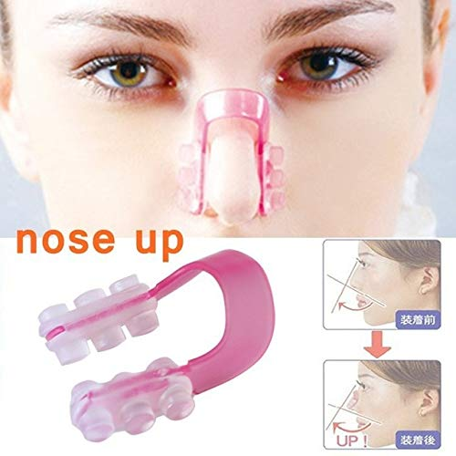 Fashion Nose Up Shaping Shaper Lifting Bridge Straightening Beauty Nose Clip Face Fitness Facial Clipper - Straightening Up Bridge Nose