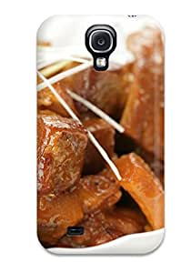 Rugged Skin Case Cover For Galaxy S4- Eco-friendly Packaging(chinese Food)