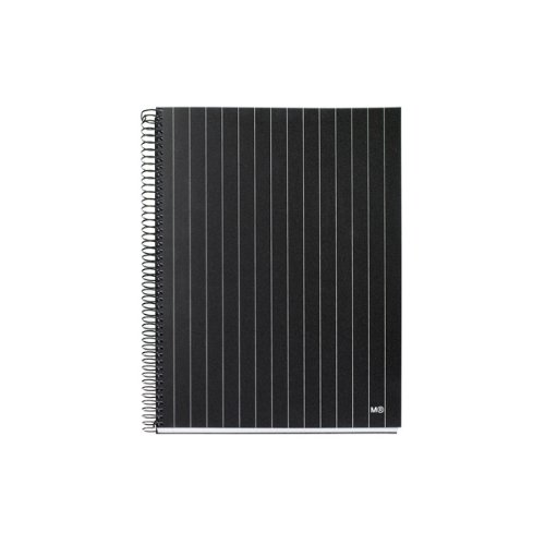 miquelrius-85-x11-a4-diplomatic-wirebound-notebook-4-subject-college-ruled-black