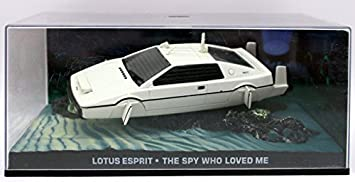 Lotus Esprit Underwater The Spy Who Loved Me Car James Bond Collection 1 43 Scale Ref168