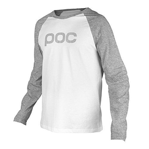 POC Raglan Jersey, Palladium Grey/Hydrogen White, (Palladium T-shirt)