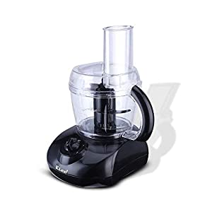 Rico KP603 400W Atta Kneader & Food Processor With Bowl, Off-white, White