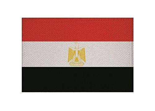 U24toppa Egitto Bandiera applicazione Patch 9x 6cm