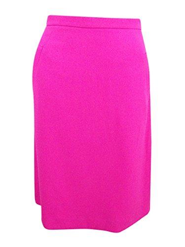 - Kasper Womens Knit A-Line Mini Skirt Pink 4