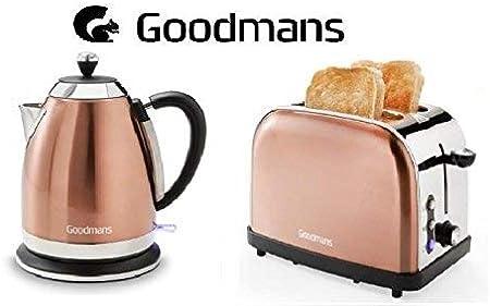 Goodmans Copper Diamond Kettle 1.8L 3KW