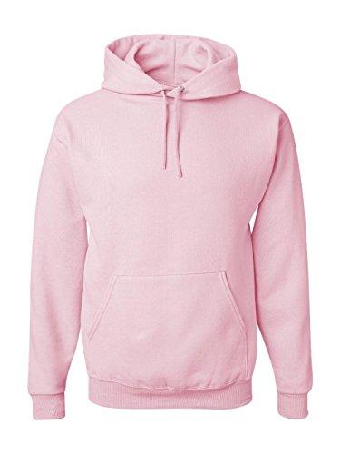 Jerzees 8 oz. NuBlend 50/50 Pullover Hood, Classic Pink - Medium Pink Hoodie