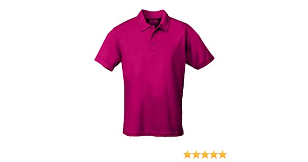 0eed5aed AWDis Men's Short Sleeve Cool Polo Shirt Hot Pink at Amazon Men's Clothing  store: