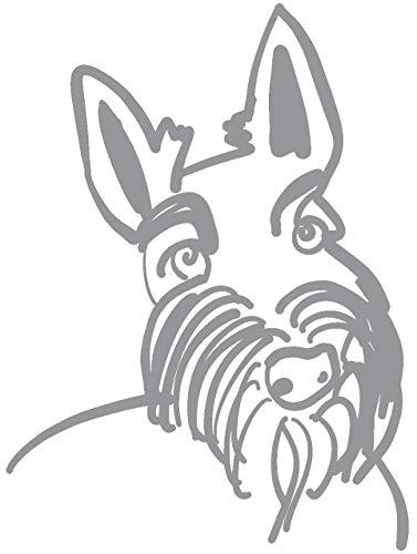 hBARSCI Scottish Terrier Vinyl Decal - 5