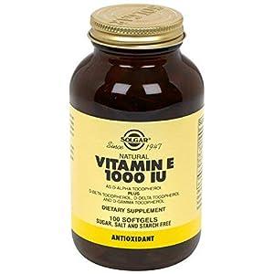 Vitamin E 1000 IU Mixed (d-Alpha Tocopherols & Mixed Tocopherols), 500 Softgels