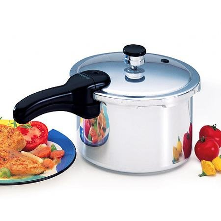 Presto 4-Quart Aluminum Pressure Cooker