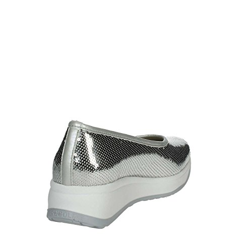 136 Mujer Agile Rucoline A34 Bailarinas Plata by Sw01gqB