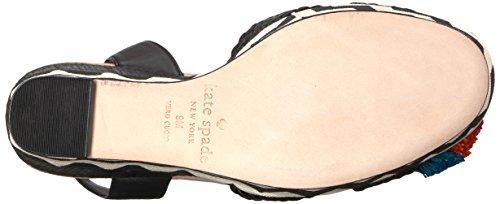 Kate Spade New York Coin Sandale Pour Femmes De Delancey Noir