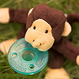 WubbaNub Infant Pacifier - Monkey