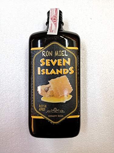 Ron Miel Seven Islands 1 Litro Botella plastico 20% Alcohol ...