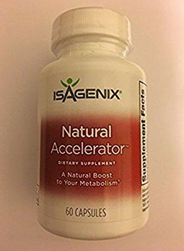 ISAGENIX NATURAL ACCELERATOR 60 Capsules