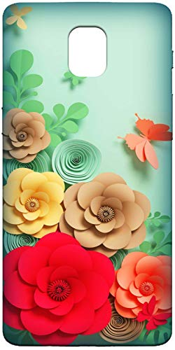 Wellmore Nice Flowers 3D Printed Soft Silicon Designer Mobile Back Case Cover for Oneplus 3