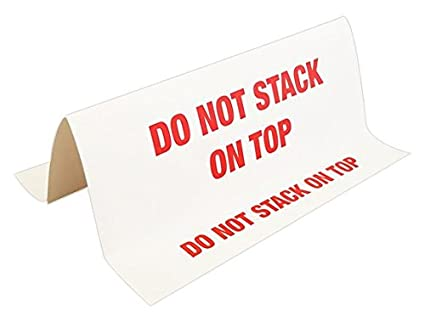 amazon com mr label company do not stack 3d tent labels 12 l x