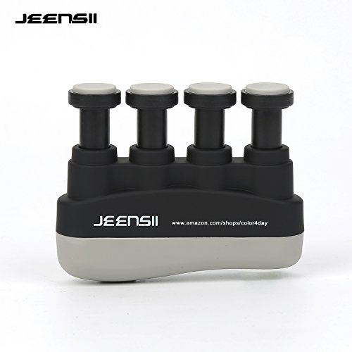 JEENSII Finger Strength Grips with Adjustable Resistance 22-88 Lbs for Finger, Wrist and Arm Training by JEENSII