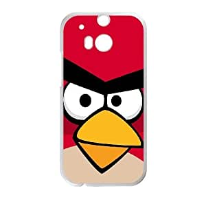 HTC One M8 Cell Phone Case White Angry Birds SLI_782191