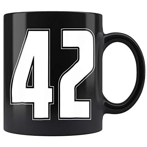 Halloween Group Costume #42 Sports Jersey Number 42 Mug Coffee Mug 11oz Gift Tea Cups 11oz