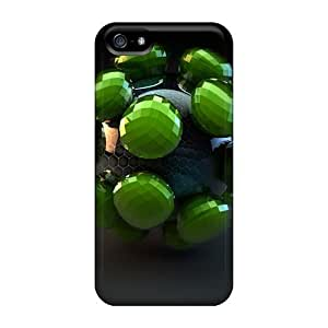 3d Abstract Cases Compatible With Iphone 5/5s/ Hot Protection Cases by icecream design