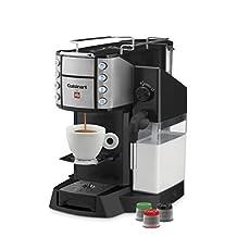 Cuisinart EM-600 Buona Tazza Superautomatic Single Serve Espresso Caffe Latte Cappuccino Machine, Black
