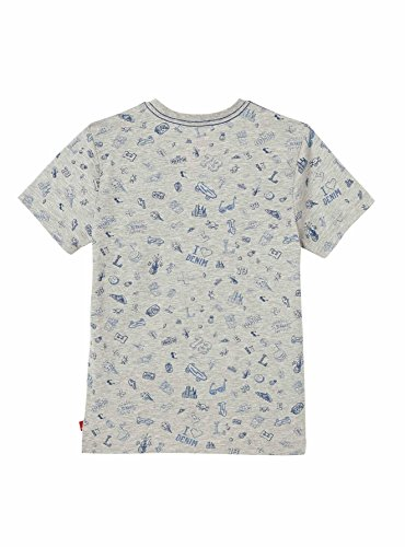 Levis Mélange denim Bleu Flockwin Gris Shirt T grey vTxaX5An