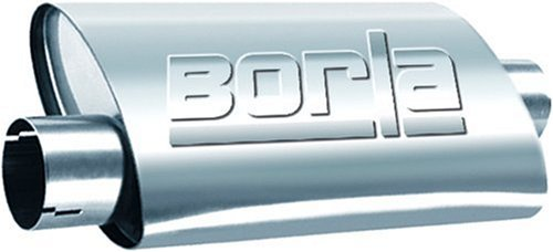 Borla 40659 Universal Turbo Center/Offset Muffler