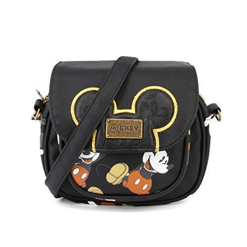 Mickey Bolso Mouse Negro True Karactermania Cm Bandolera 18 UdBqB68