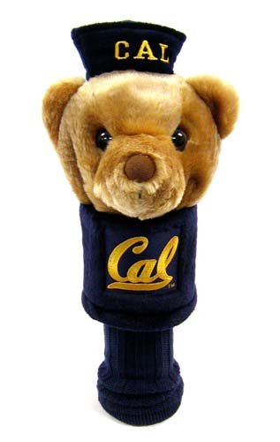 California Bears Golf - Team Golf NCAA California Golden Bears Mascot Golf Club Headcover, Fits most Oversized Drivers, Extra Long Sock for Shaft Protection, Officially Licensed Product