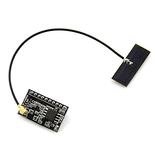 Loria WIFI-LPT100 Single-stream WiFi Module 2.4GHz Integrates UART to WiFi with Antenna Wireless ()